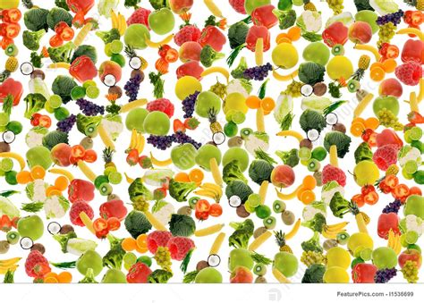 vegetables pattern wallpaper vegetable and fruit background stock picture i1536699 at