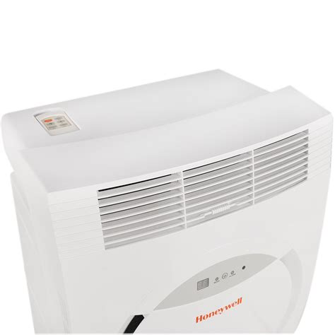 Honeywell MF08CES Portable Air Conditioner, 8,000 BTU Cooling, LED Display, Single Hose (White
