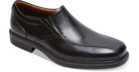rockport s dressports luxe slip on dress shoes in