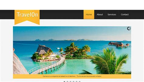 tourism templates free 40 best travel website html templates templatemag