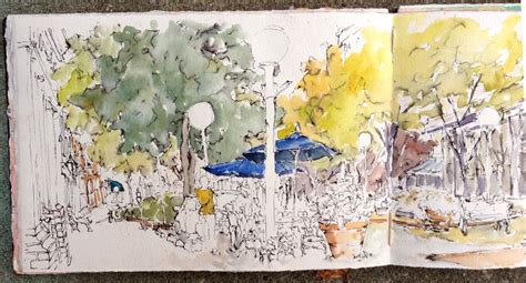 sketch book for the artist west st salisbury md ink watercolor en plain air