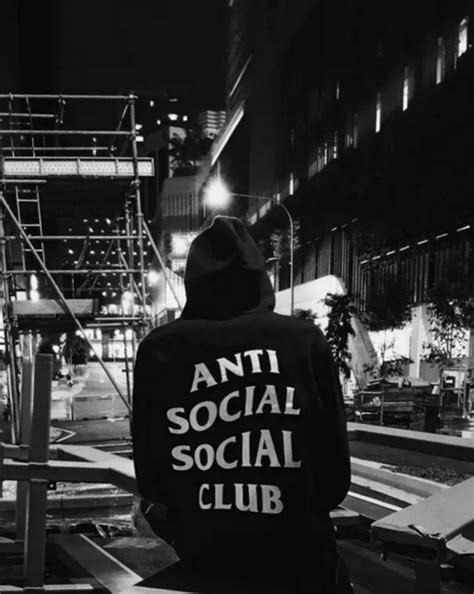 Antisocial Black anti social social club hoodie 4 colors ogv blvck anti social social club