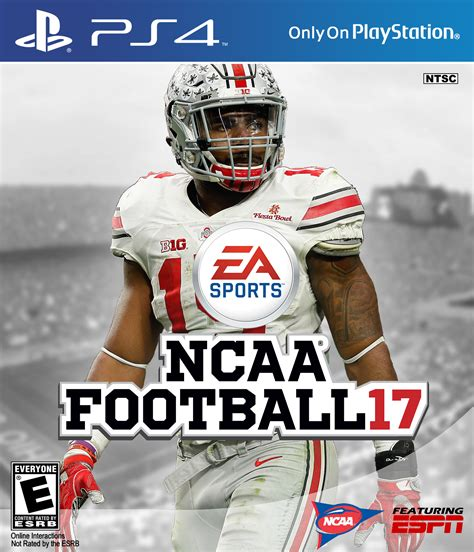 Best Virtual Home Design by Ncaa Football 17 Playstation 4 Box Art Cover By Ausem