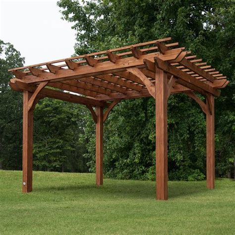 cedar pergola kit best 25 cedar pergola ideas on pergolas pergola swing and rafter tails