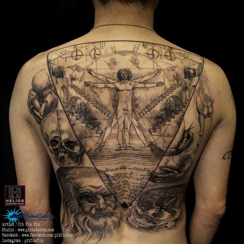 vitruvian man tattoo best 25 vitruvian ideas on da