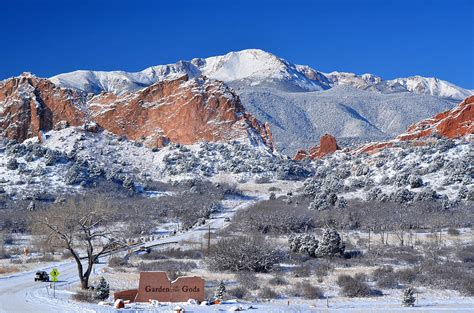 Garden Of The Gods Winter by Beautiful Winter Garden Of The Gods Photograph By Hoffman