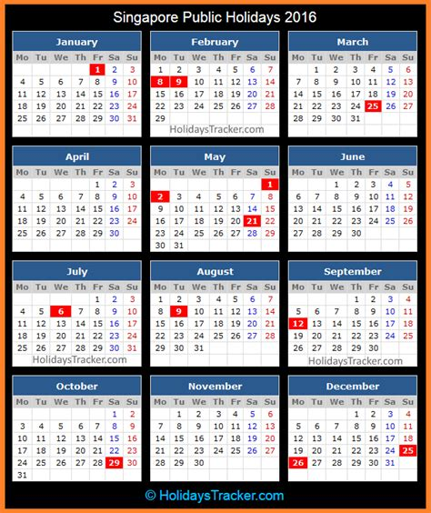 new year 2015 singapore calendar singapore holidays 2016 holidays tracker