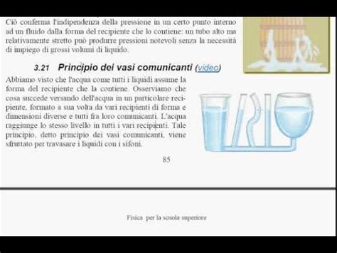 principio dei vasi comunicanti 1a principio dei vasi comunicanti