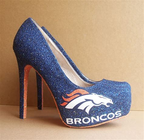 Wedding Shoes Denver by Funky Wedding Shoes For Sports Loving Brides Broncos