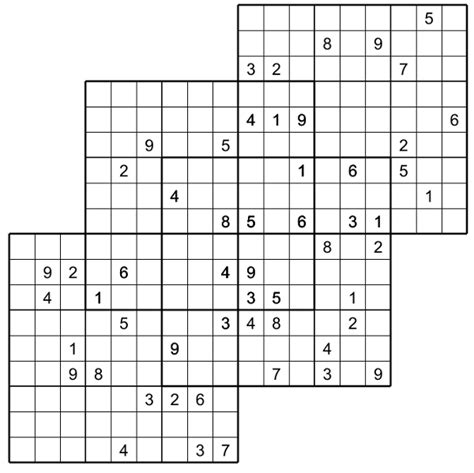 printable multiple sudoku quatro