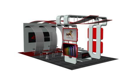 3d booth design tutorial booth design rhino 3d cad model grabcad