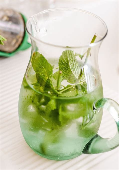cara membuat infused water lemon dan daun mint 8 resep infused water sederhana agar air putih jadi
