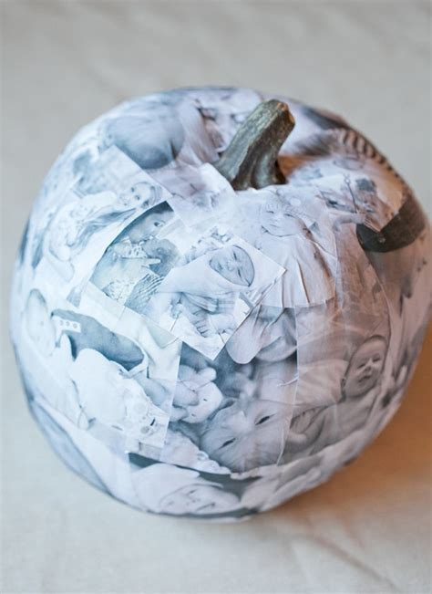 Decoupage Photo - decoupage photo pumpkin 183 how to decorate a pumpkin