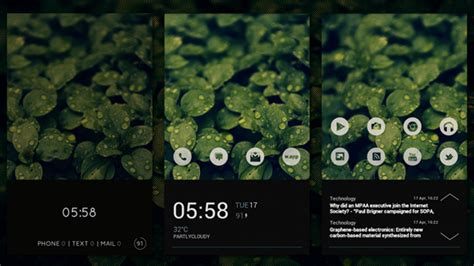 best android home screen the morning dew android home screen lifehacker australia