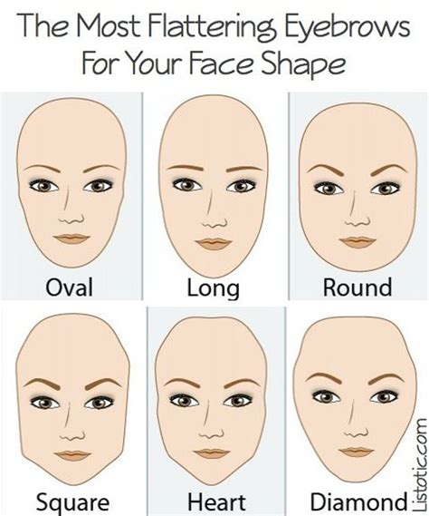 does and donts for a heart shaped face shape 10 steps you never knew to achieve perfect eyebrows