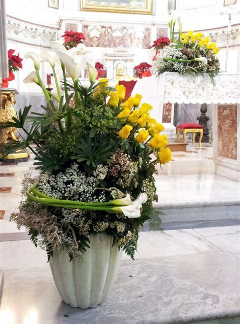 composizioni fiori matrimonio composizioni floreali di colore giallo fiorista roberto