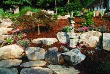 landscape design installation evergreen  johnson