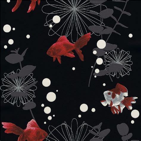 Rasch Wallpaper rasch red fish textured embossed kitchen bathroom vinyl