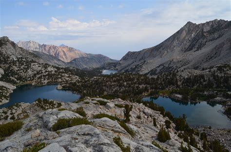 high sierras remnants  ice age   tale  future climate