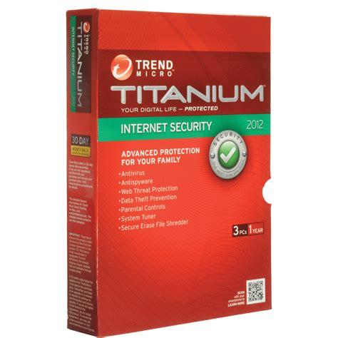 trend micro titanium security 2012 titis38582 b h