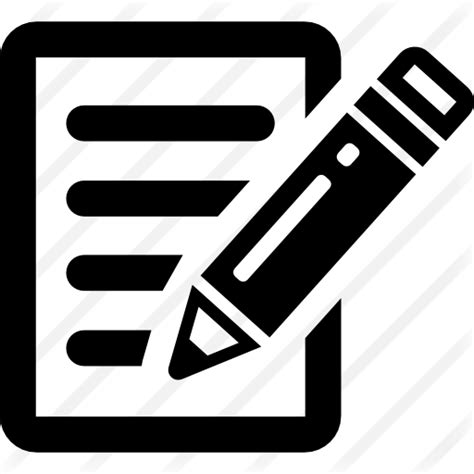 Black Letter Publication write free interface icons