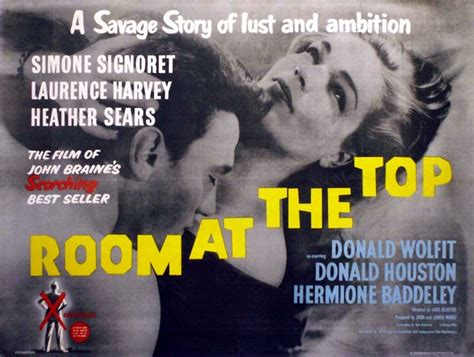 room at the top 1959 room at the top the soul of the plot