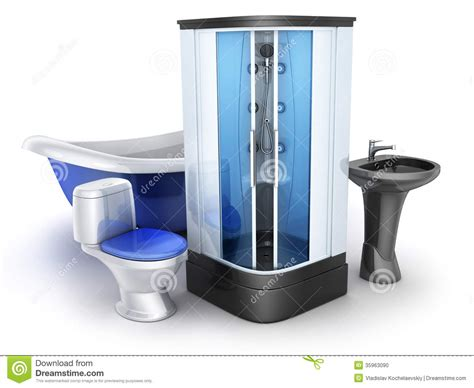 Bathroom Equipment | moden bathroom equipment stock photo image 35963090