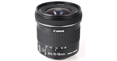 Lensa Canon Ef 10 18 canon ef s 10 18mm f 4 5 5 6 is stm