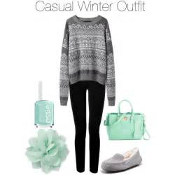 Casual Winter Outfit Polyvore