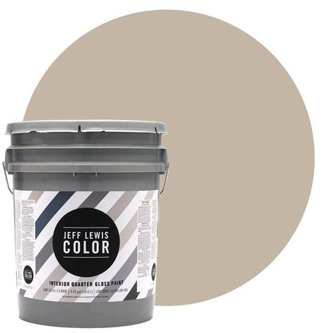 jeff lewis color 5 gal jlc214 quarry quarter gloss ultra low voc interior paint 305214 the