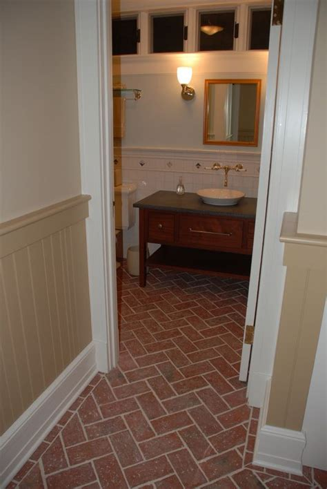 thin tiles for bathroom bathrooms inglenook brick tiles thin brick flooring