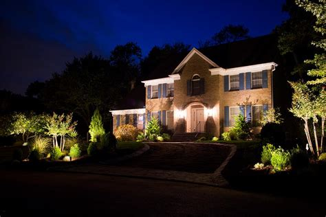 Landscape Lighting Images Outdoor Landscape Lighting Bergen County Nj