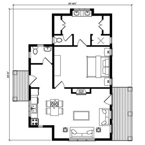 house plans with adu 12 best adu floor plans images on pinterest small home