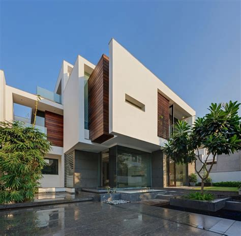delhi house design modern home in new delhi overhang house by dada partners awesome architecture