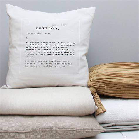 Cushion Definition Cushion By Frost Dutch