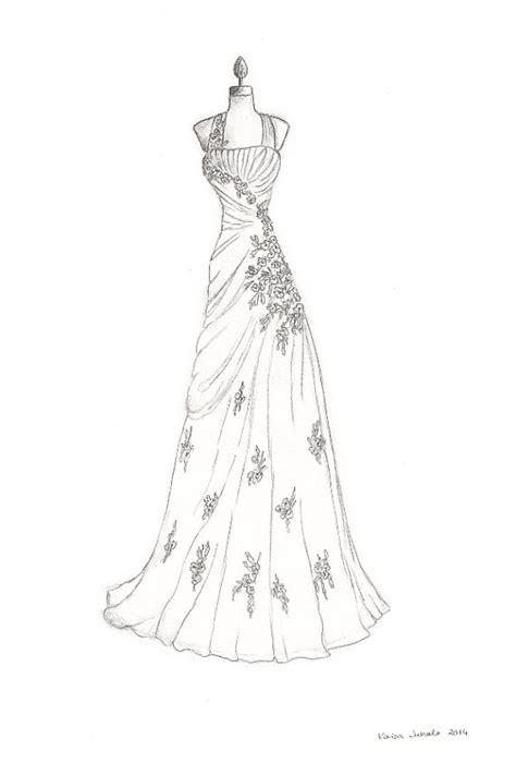 Brautkleider Zeichnen Lernen by 196 Hnliche Artikel Wie Benutzerdefinierte Hochzeit Kleid