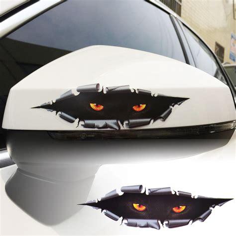 3d Sticker Auto by Auto Car Window 3d Creative Simulation Leopard Eye
