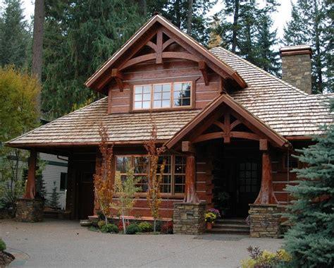 Handcrafted Log Home - homes handcrafted timber frame home caribou creek log