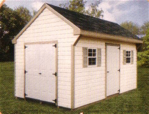 Barrette Sheds by Vinyl Storage Sheds Shed Plans