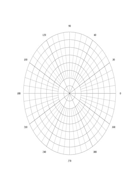 How To Make A Paper Polar - polar graph paper template free