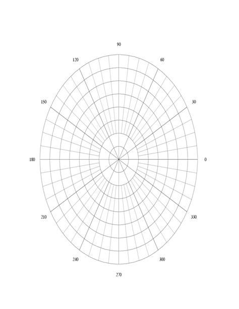 polar graph paper polar graph paper template free