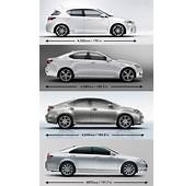 Lexus CT 200h Size Comparison