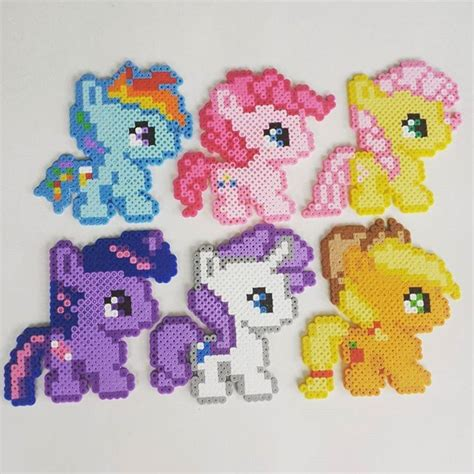 My Pony Perler By Burritoprincess Hama