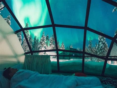 northern lights resort finland best time to visit finland for northern lights