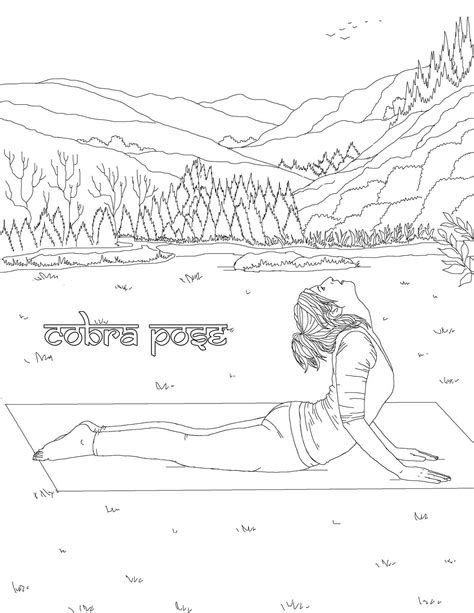 coloring pages yoga poses the yoga poses adult coloring book book by m g anthony