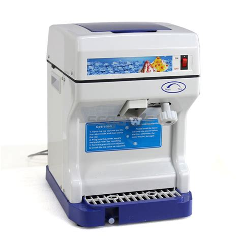 ebay snow cone machine best crusher maker commercial shaver snow cone