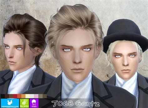 sims 4 male hairstyles 52 best sims 4 cc male hair images on pinterest male