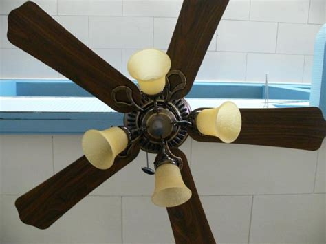 ceiling fan with lots of light 46 quot bronze ceiling fan light fixture