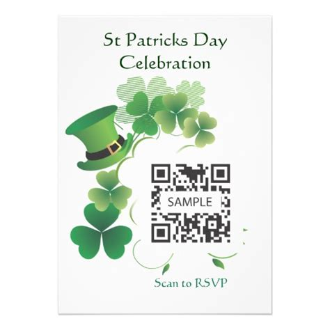 Invitation Template St Patricks Day 5 Quot X 7 Quot Invitation Card Zazzle St S Day Invitation Template