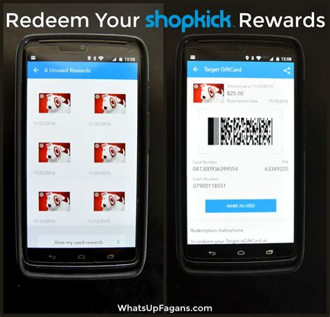 Redeem Target Gift Card - learn how the shopkick app will change the way you shop